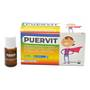 PUERVIT Integratore 10 flaconi 10 ml
